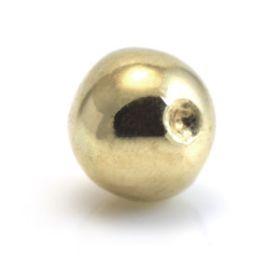 9ct Yellow Gold Plain Dimp Balls