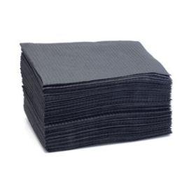 Dental Bibs / Lap Cloths - Black