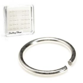 20x Silver Seamless Rings - in Box