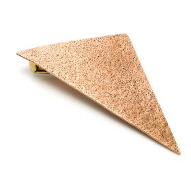 1x Large Bronze Ear Triangle