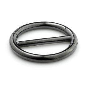 Gun Metal Steel Double Nipple Clicker