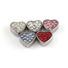 Steel Gem Heart - attachment only