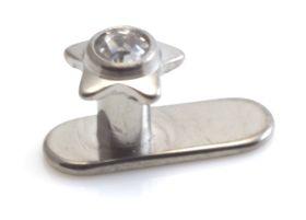 Titanium Internal Thread Anchor With Ti Gem Star