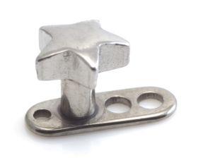 Titanium Internal Thread Anchor With Steel Star