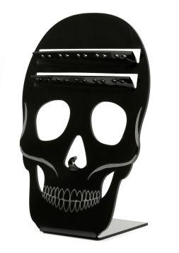 Fake Skull Septum Ring Display