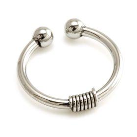 Fake Steel Coil Septum Ring