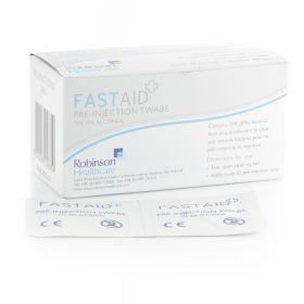 FastAid Disinfectant Pre-Injection Swabs