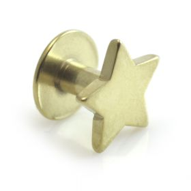 Gold Titanium Skin Diver with Star