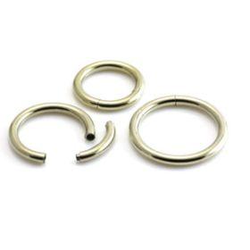 Zircon Gold Segment Ring
