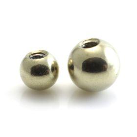 Zircon Gold Steel Micro Ball