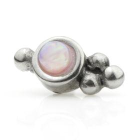 Couture Internal Steel Opal Gem Cluster Attachment