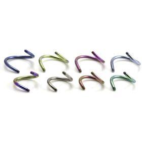 Titanium External Thread Spiral Stem