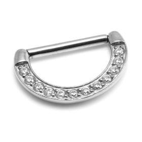 Pave Gems Nipple Clicker