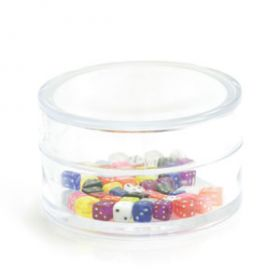 Ball Container - Acrylic Dice 1.2mm