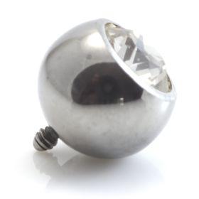 Internal Ti Micro Gem Ball - 1mm