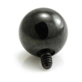 Evil Black Titanium Internal Thread Ball