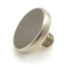 Zircon Gold Ti Flat Internal Disk