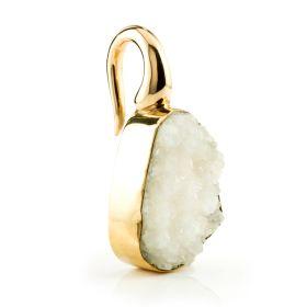 1x Crystals on Brass Hook Ear Weight