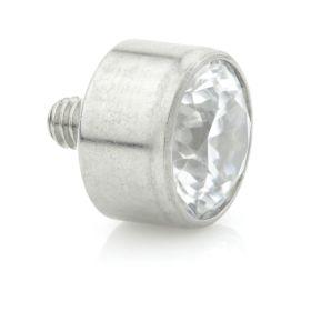 Titanium Bezel Gem Attachment 1.6mm