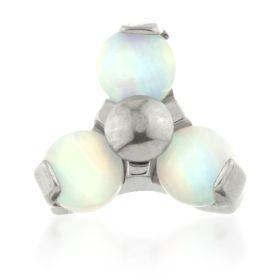 Titanium Opal Micro Trinity Top - 1.2mm
