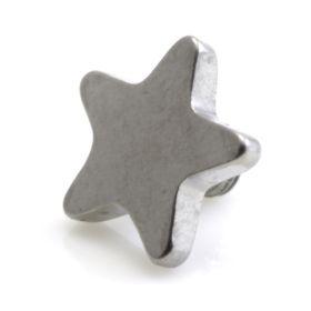 Titanium Internal Micro Star Disk (1.2mm)
