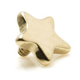 Rose Gold PVD Ti Internal Micro Star