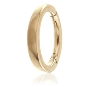 Rose Gold Steel Hinged Claw Rook Ring