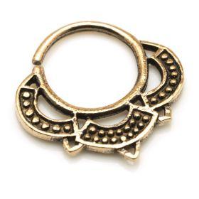 1x Rose Bronze Tribal Open Ring
