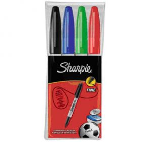 4 Multi Coloured Sharpie Pens