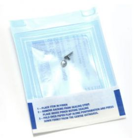 10x Sterile Titanium Internal Thread Jewelled Dermal Anchors