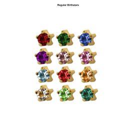 Studex Mini Assorted Gold Tiffanys Studs - Pack 12