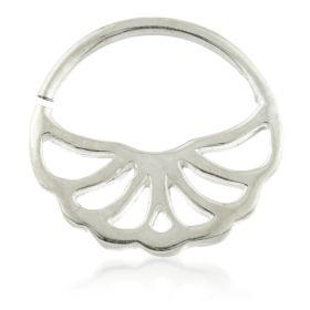 Art Deco Silver Open Ring