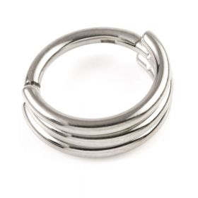 Micro Ti Hinged Banded Ring 1.2mm