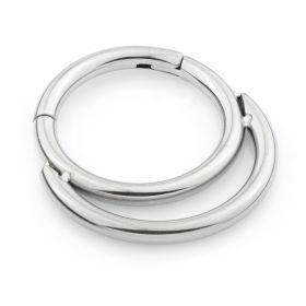 Ti Double Daith Titanium Hinge Ring