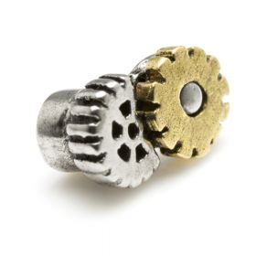 Steel and Brass Cog Attachment