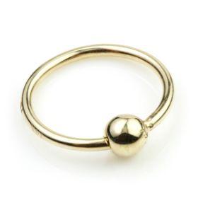 TL - Gold Seamless BCR Twist Ring