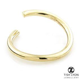 TL- Gold Seamless Twist Ring