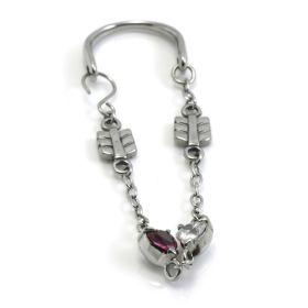1x Arrows & Hearts Tunnel Jewellery