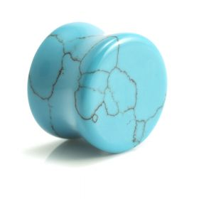 Turquoise Stone Plug (sold individually)