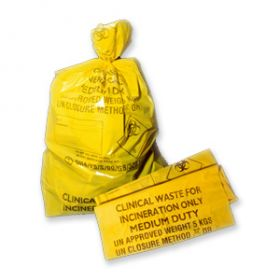Hanfare Clinical Waste Sacks